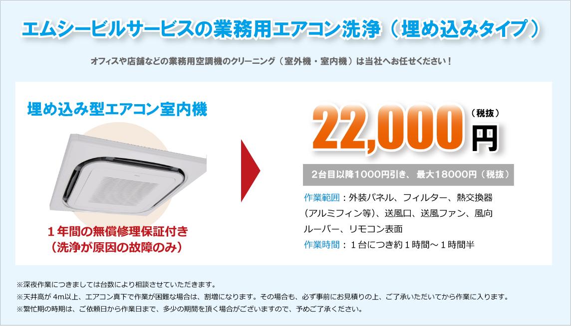 業務用エアコンクリーニング格安価格