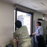 続・オフィスビルの窓サッシが落ちる?1つ1つの窓を調査してきました。