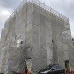 中古ビル購入して外壁と内装を改修したい!厚木市のテナントビルの工事がスタート