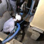 汚水槽清掃の繁忙期!見積承認から2か月経ってようやく汚水槽清掃を実施できました。