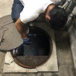 汚水槽が満水で建物内に警報が鳴った!まずは警報を止めて専門の清掃業者へ連絡を!