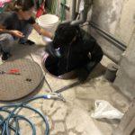 汚水槽清掃やポンプ交換工事などトラブル案件や業者切り替え、入札案件の見積依頼でバタバタ。