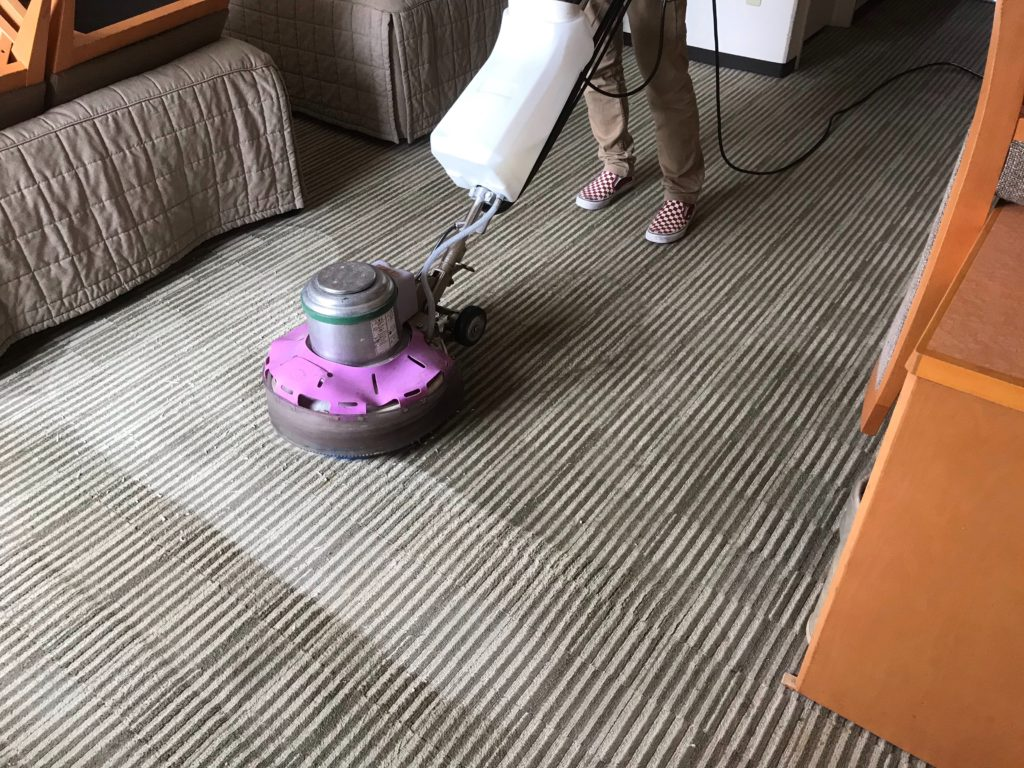 横浜市_カーペット洗浄_ホテル4