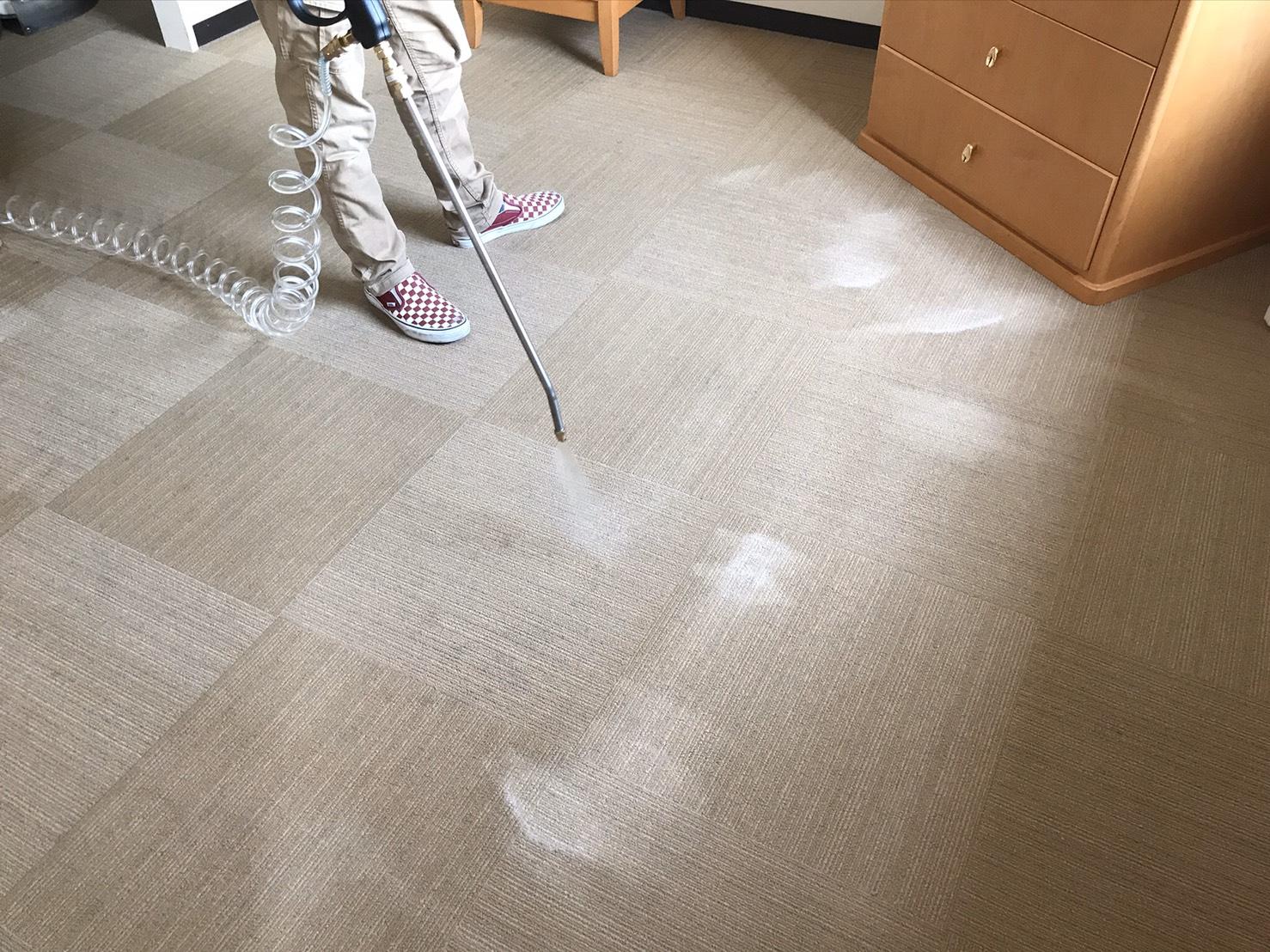 神奈川県_カーペット洗浄清掃業者2