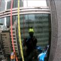 【高所作業の臨場感が伝わる?】Goproによるガラス定期清掃の様子を動画で撮ってみた!