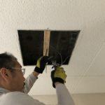 共用部の電気がつかない…。川崎市のマンションでLED照明交換工事と防犯カメラ増設工事